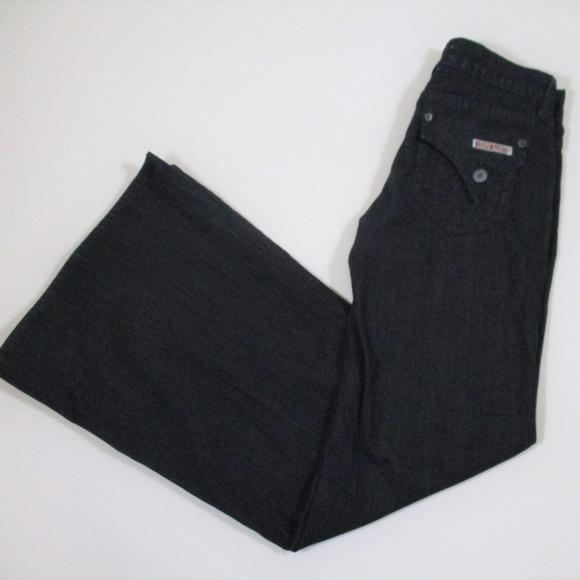 86258ea605df Hudson Jeans Denim - Hudson super wide leg dark wash jean trouser EUC